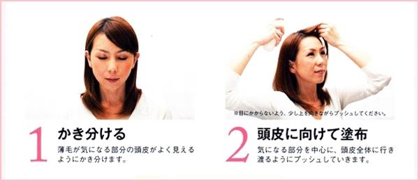 使い方ステップ1と2